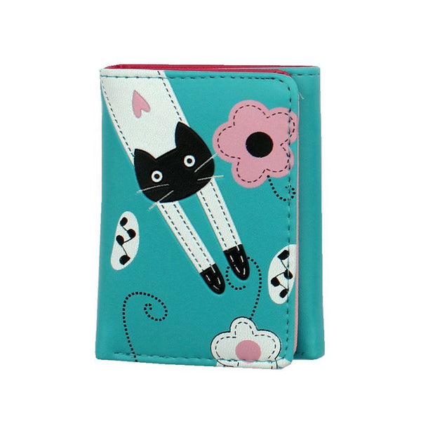 Cute Cat Wallet Short