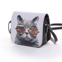 Trippy Kitty Shoulder Bag