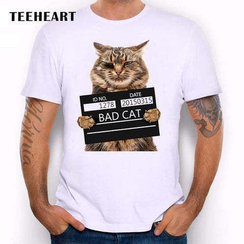 Men's Bad Cat T Shirt