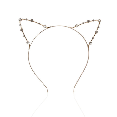 Fancy Cat Ears Headband