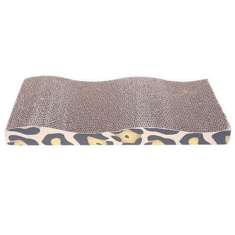 Cat Scratch Board Leopard Print With Cat Nip