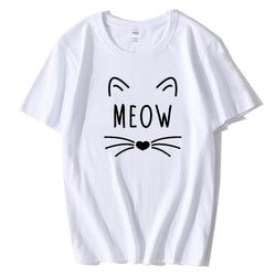 Cat Meow Women T Shirt