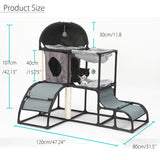Cat Tree Play House Condo