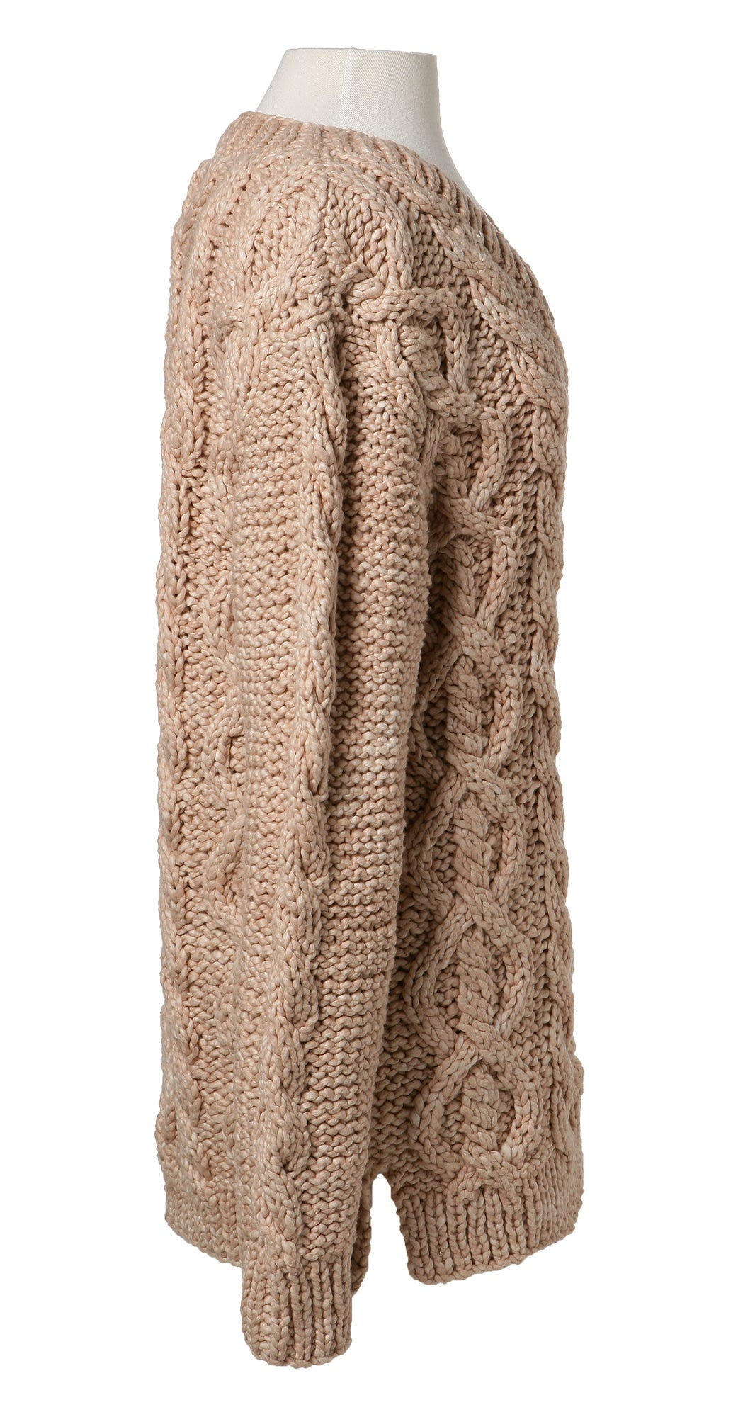 MIllie Hand Knit Chunky V-Neck