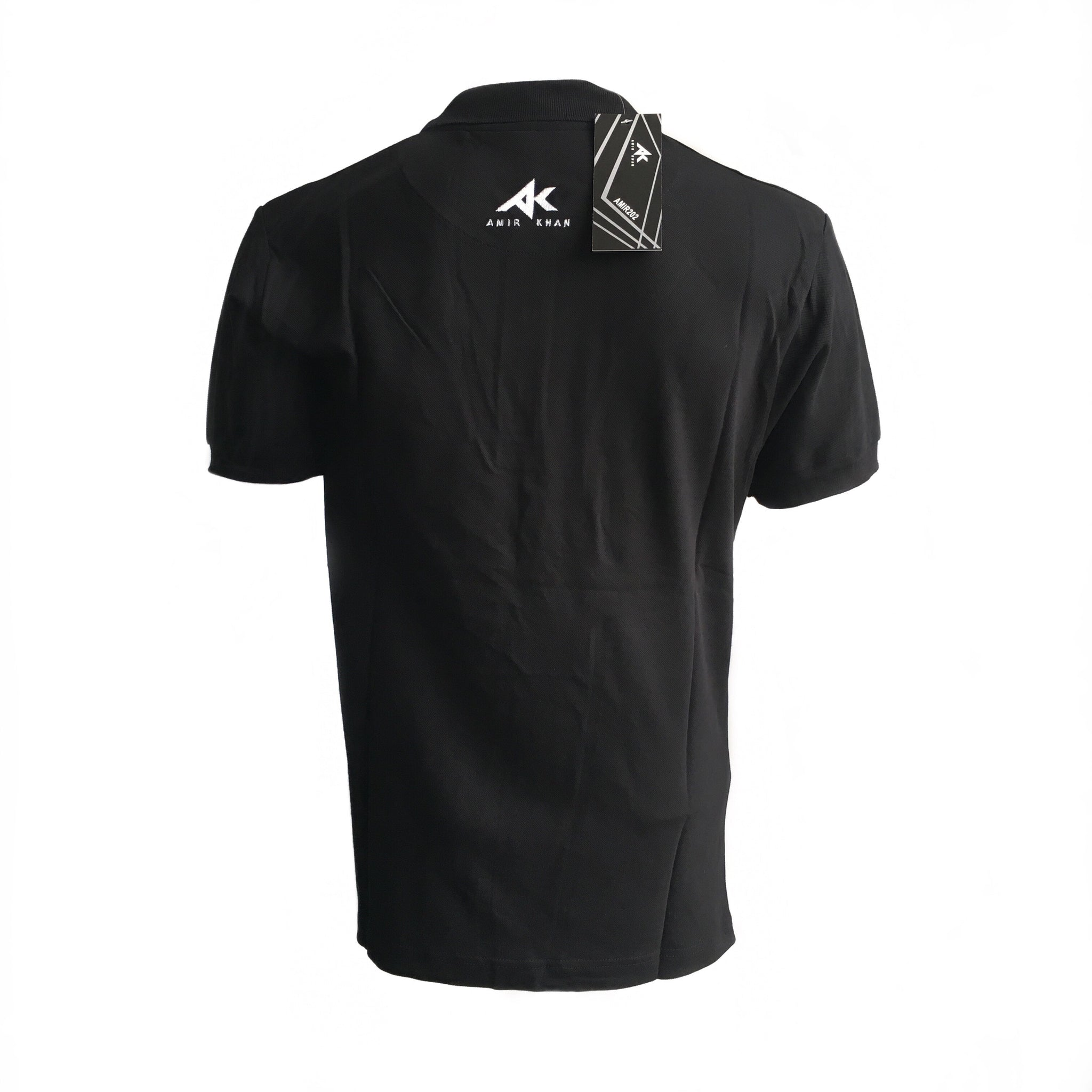 AK Black Polo Shirt