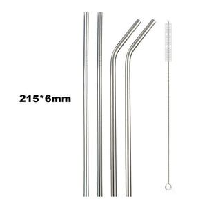 Stainless Steel Collapsible Straw - Ask Dr. Renee Store