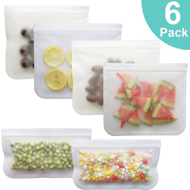 Reusable Refrigerator Food Sealing Storage Bag - Ask Dr. Renee Store