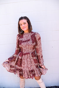Perfect in Paisley Dress-Dresses-U&I Boutique