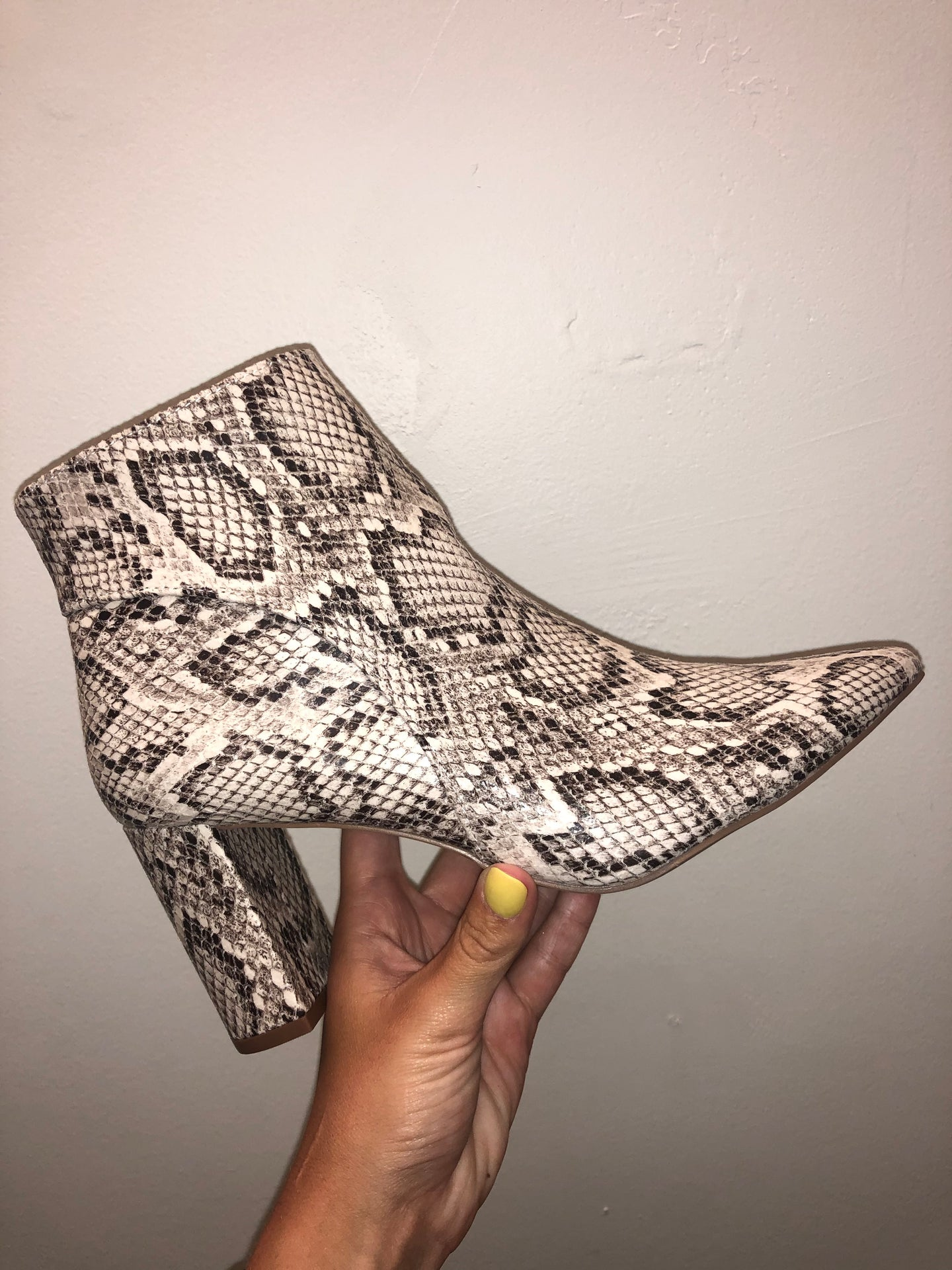 Snakeskin Lover Booties-Shoes-U&I Boutique