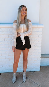 Trendy As Can Be Skort-Bottoms-U&I Boutique