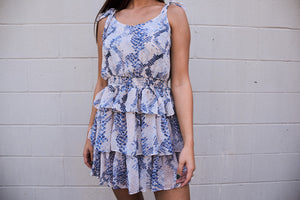 Snake You Out Dress-Dresses-U&I Boutique