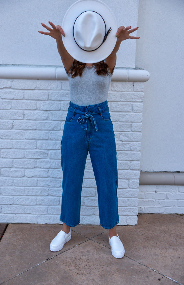 Denim Dream Pants-Bottoms-U&I Boutique