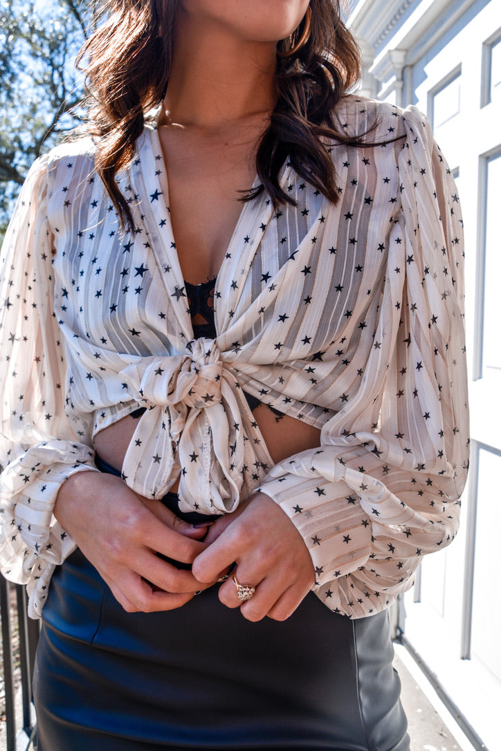 A Polka Dot Dream Top-Tops-U&I Boutique