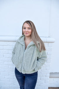 What's The Fuzz Jacket-Jackets-U&I Boutique