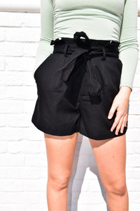 Belt It Out Shorts-Bottoms-U&I Boutique