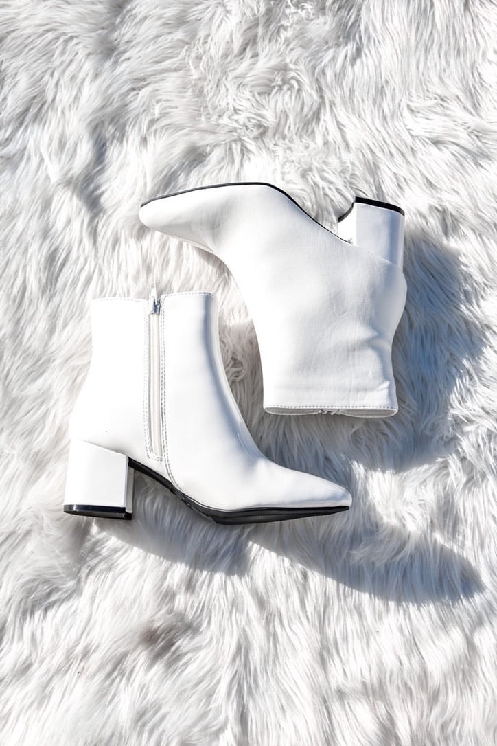 Two-Toned Booties-Shoes-U&I Boutique