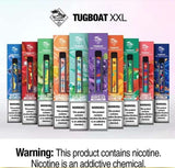 TUG BOAT XXL DISPOSABLE VAPE (2500 PUFFS)