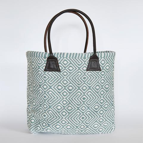Teal Provence Bag from Weaver Green