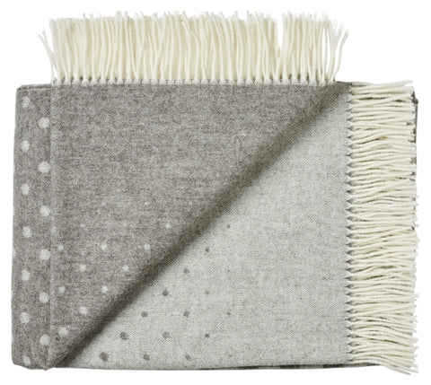 Alpaca throw grey