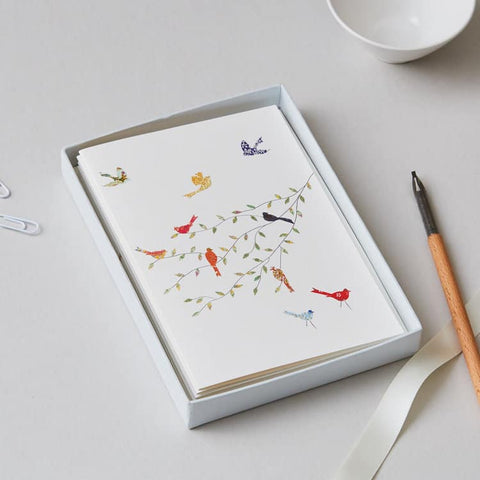 Birds Boxed Card Set