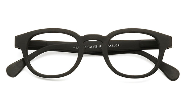 Reading glasses Type C black (+1 & +1.5)