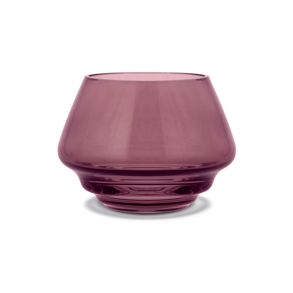 Flow Tea-light Holder - Plum