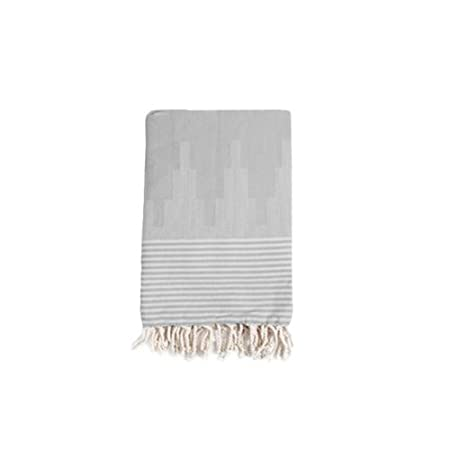 Grey Cotton Blanket