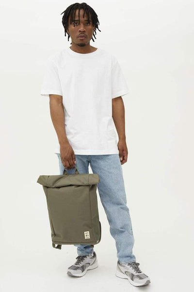 Roll Backpack - Olive