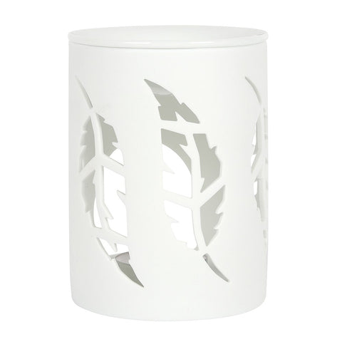 Wax/Oil Burner - White Feather