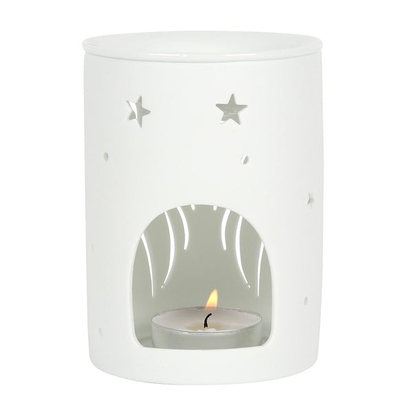 Wax/Oil Burner - White Wings