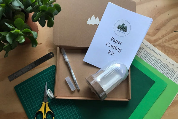 3D Forest  Paper Cutting Kit for Adults