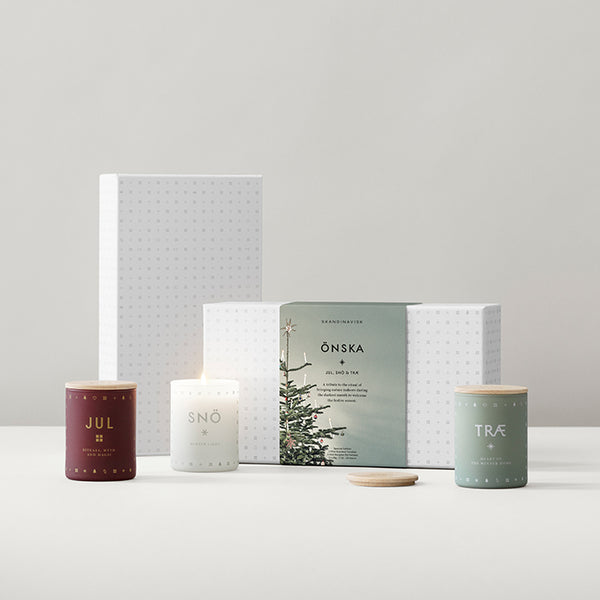 ÖNSKA (Wish) Mini Scented Candle Gift Set