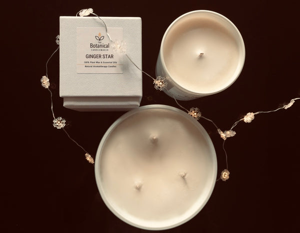 Aromatherapy candle - Ginger Star, small