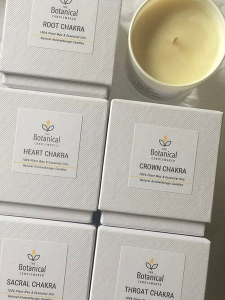Aromatherapy candle - Heart or Anahata Chakra
