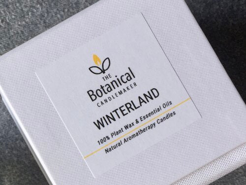 Aromatherapy candle - Winterland, small