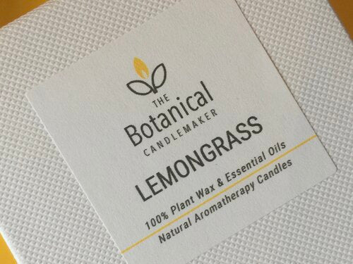 Aromatherapy candle - Lemongrass, small