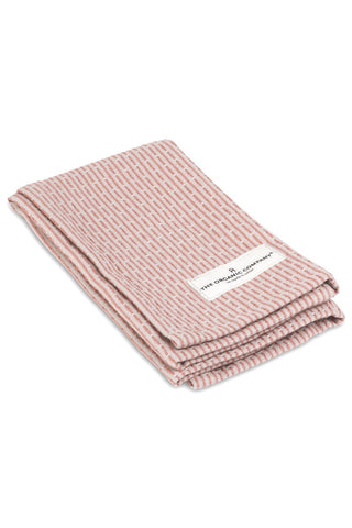 The Organic Company Kitchen and Wash Cloth Stone Rose