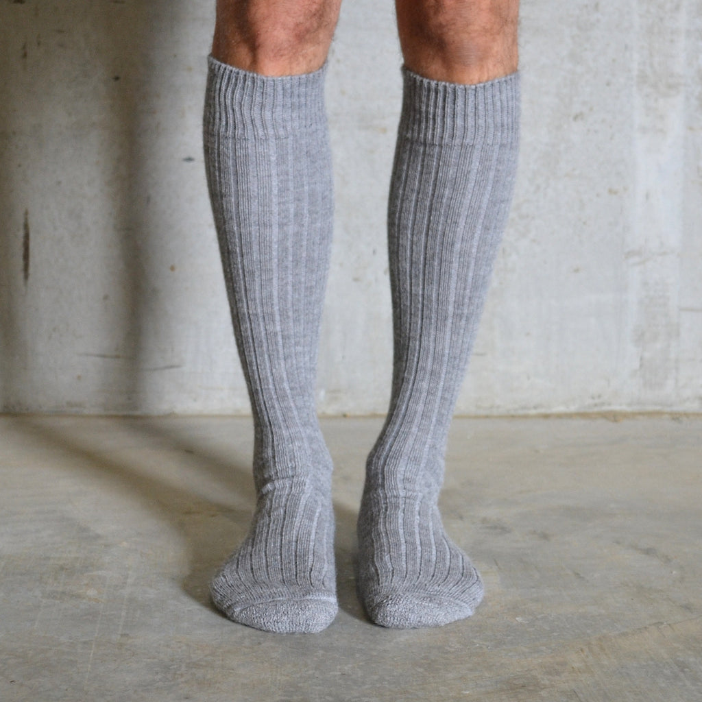 Alpaca Boot Socks - Long