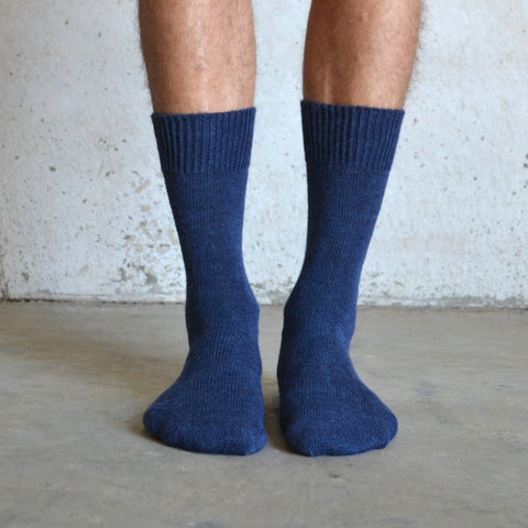 Everyday Alpack Sock - Navy