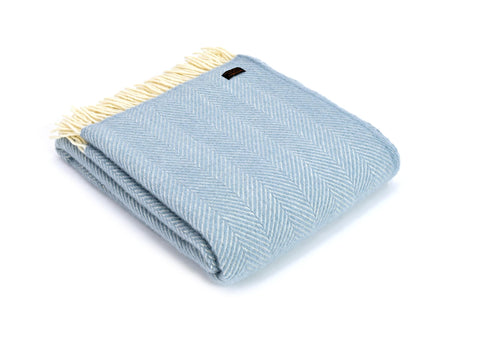 Fishbone Throw - Duck Egg