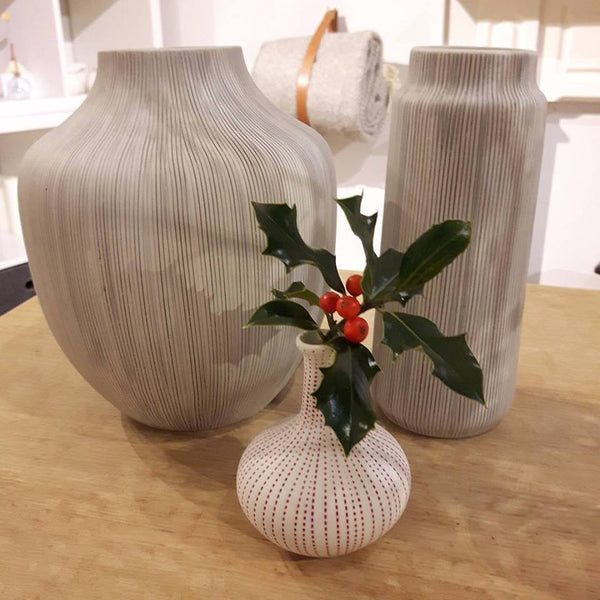 Lindform vase - Lisa grey