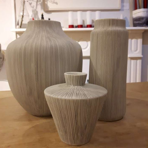 Lindform vase - Sonja grey