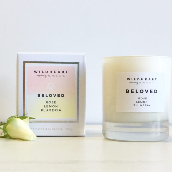 Wildheart Organics Aromatheraphy candle - Beloved