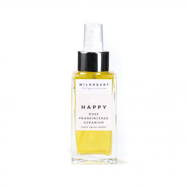 Organic Aromatherapy Room Mist - Happy