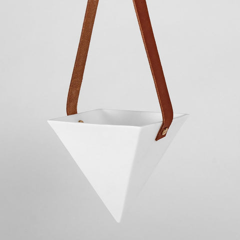 White Jack Laverick Pyramid Planter