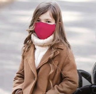 Noordi red child face mask