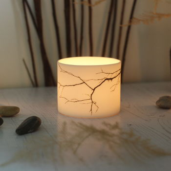 Tea Light Holder, twig - Jack Laverick