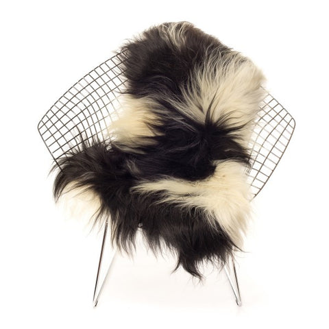Icelandic Sheepskin - Long Haired Spotted