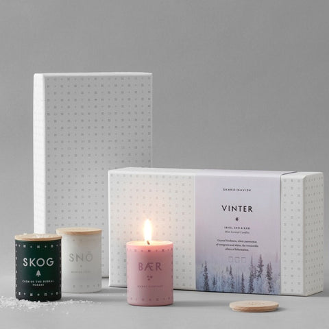 VINTER Mini Scented Candle Gift Set