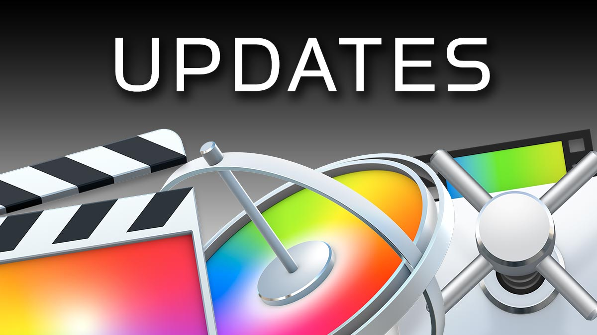 Final Cut Pro 10.4, Motion 5.4, and Compressor 4.4 Released by Apple